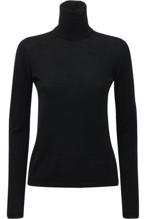 MAX MARA Damen Sweatshirts - Sweater Aus Wolle Mit Rollkragen
