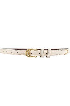Sancia Adela Belt in - White. Size all.