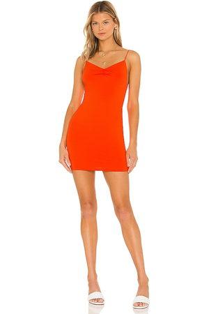 superdown Dia Ruched Mini Dress in - . Size L (also in XXS, XS, S, M, XL).