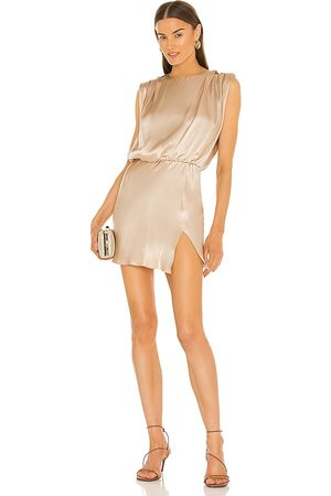 Amanda Uprichard Camela Dress in - Nude. Size L (also in XS, S, M).