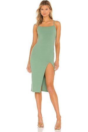 superdown Candace Slit Midi Dress in - . Size L (also in XXS, XS, S, M, XL).