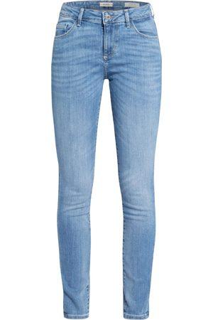 Guess Damen Skinny - Skinny Jeans Annette blau