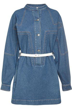 Stella McCartney Minikleid Aus Baumwolldenim