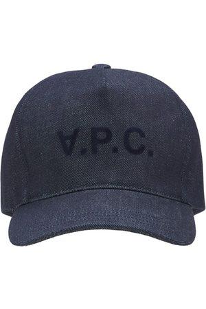 A.P.C. Damen Caps - Kappe Aus Baumwolldenim