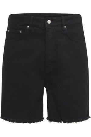 FLANEUR HOMME Herren Shorts - Shorts Aus Baumwolldenim