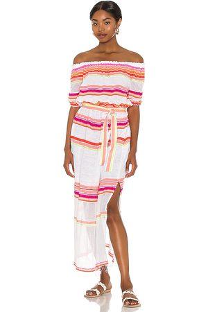 Lemlem Damen Lange Kleider - Qelem Maxi Dress in - Pink. Size L (also in S, XS, M).