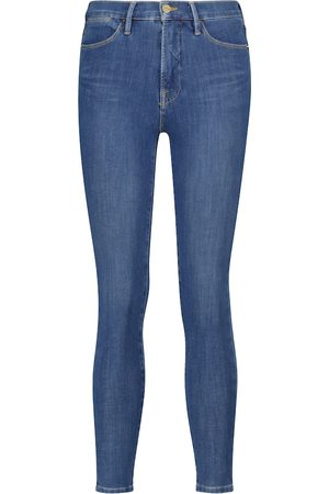 Frame High-Rise Skinny Jeans 24 Hour