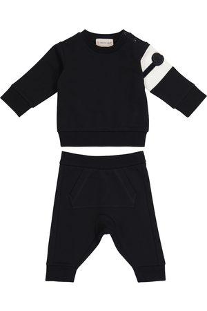 Moncler Baby Set aus Sweatshirt und Jogginghose
