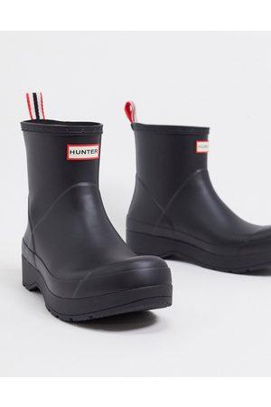 Hunter Original play short wellington boots in black