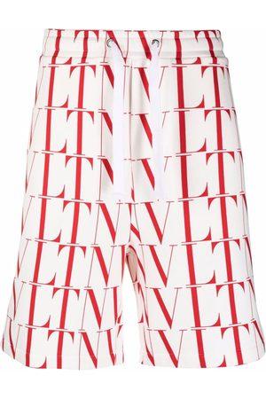 VALENTINO Herren Shorts - VLTN-print shorts