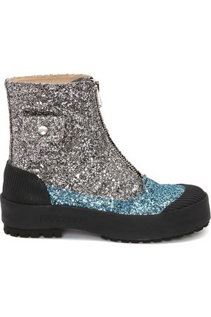 J.W.Anderson Duck glitter ankle boots