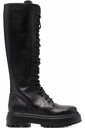 LE SILLA Ranger lace-up boots
