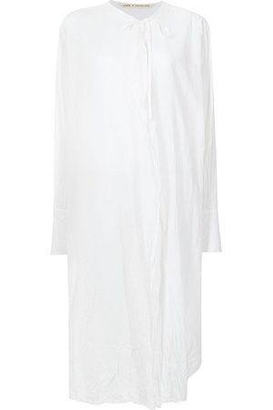 FORME D'EXPRESSION Damen Freizeitkleider - Tie-front long shirt