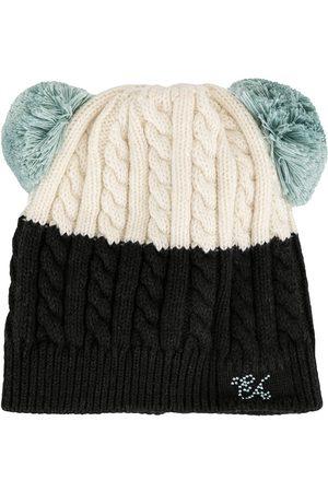Emporio Armani Pompom knit beanie