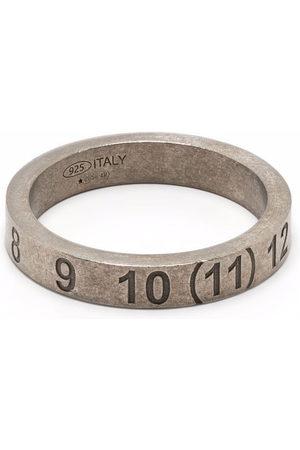 Maison Margiela Numbers-motif band ring