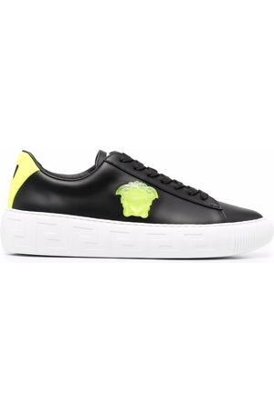 VERSACE Greca low-top lace-up sneakers