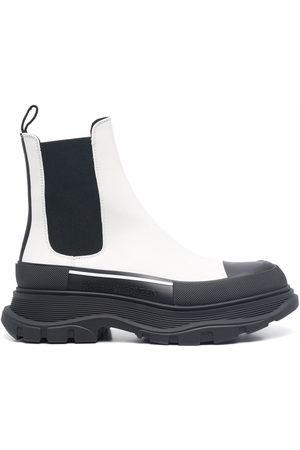 Alexander McQueen Tread Slick Chelsea ankle boots