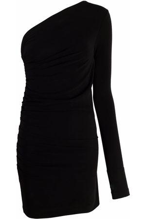 Dsquared2 Damen Asymmetrische Kleider - One-shoulder fitted minidress