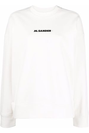Jil Sander Logo-print cotton sweatshirt