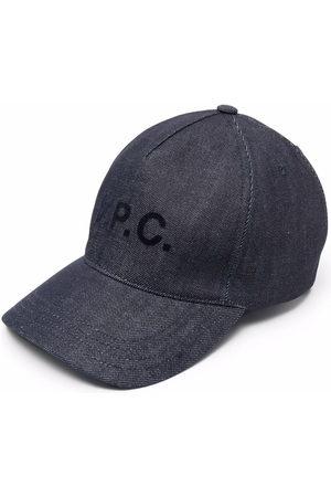 A.P.C. Herren Hüte - Logo-print cap
