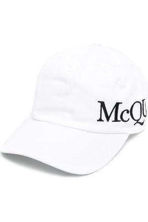 Alexander McQueen Herren Caps - Logo-embroidered baseball cap