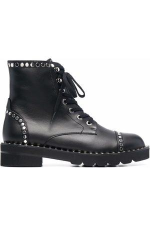 Stuart Weitzman Mila Lift studded ankle boots