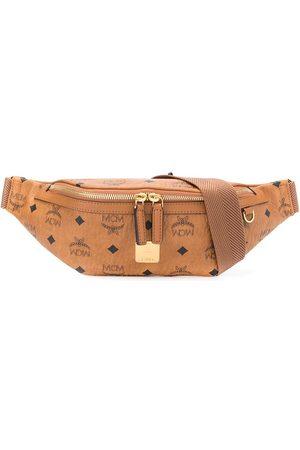 MCM Fursten Visetos-print belt bag