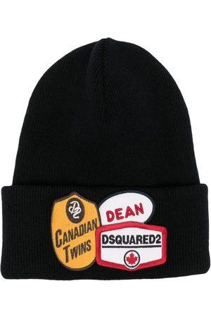 Dsquared2 Herren Hüte - Logo-patch beanie