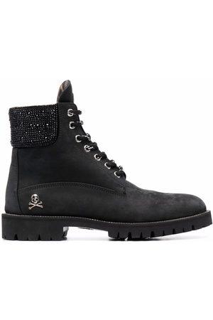 Philipp Plein The Hunter nabuk boots