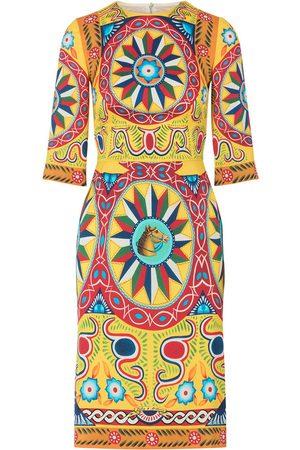 Dolce & Gabbana Damen Freizeitkleider - Printed midi dress