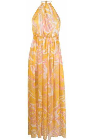 Emilio Pucci Damen Freizeitkleider - Silk graphic-print dress