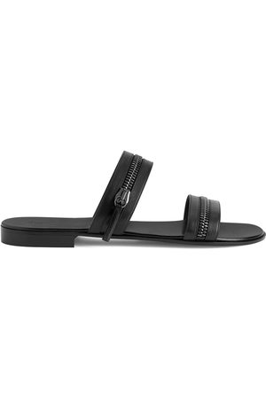 Giuseppe Zanotti Herren Sandalen - Brad zip-detail sandals