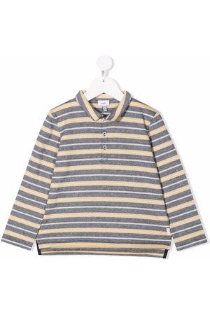 KNOT Jungen Poloshirts - Striped-pattern polo shirt