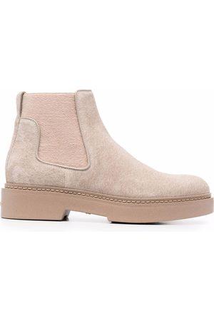 santoni Damen Stiefeletten - Slip-on suede ankle boots