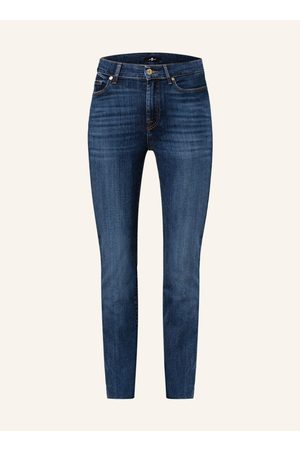 7 For All Mankind Damen Straight - Straight Jeans The Straight Crop