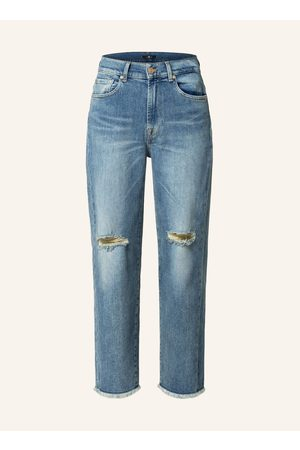 7 For All Mankind 7/8-Jeans blau