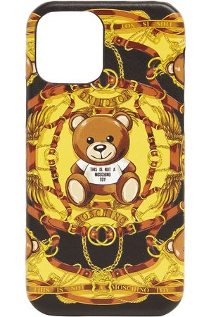 Moschino Iphone 12 Pro Max-cover Mit Teddy-druck