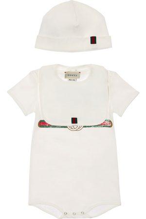 Gucci Damen Mützen - Body, Mütze Und Latz Aus Baumwolle