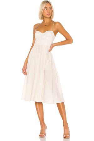 L'Academie The Sonia Midi Dress in - . Size XL (also in M, L).