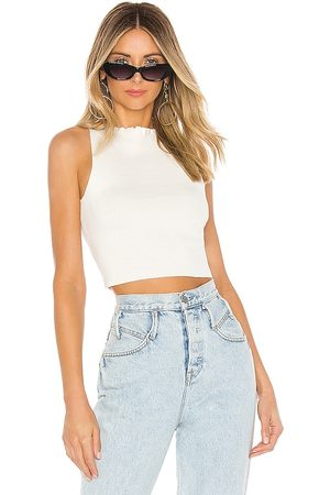 Lovers + Friends Cailey Top in - White. Size L (also in XS, S, M).