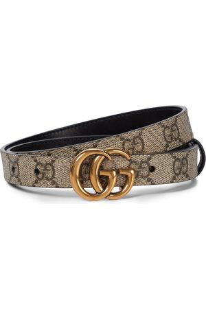 Gucci Wendbarer Gürtel GG Supreme aus Canvas