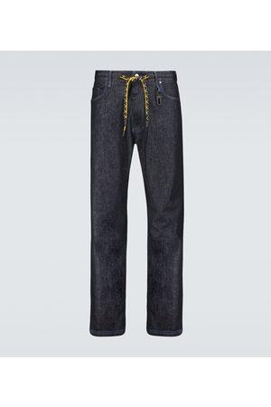 Fendi Straight Jeans aus Stretch-Baumwolle