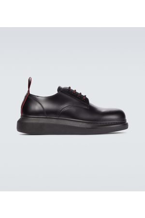 Alexander McQueen Schnürschuhe Hybrid aus Leder