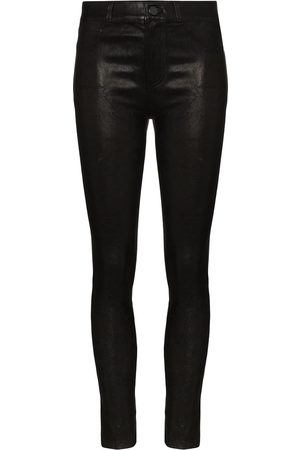 Paige Hoxton leather skinny trousers