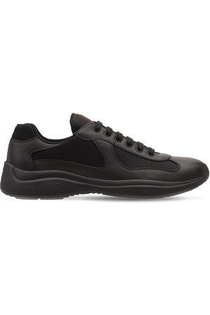 "Prada Sneakers Aus Leder Und Mesh ""america's Cup"""
