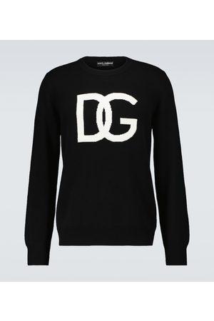 Dolce & Gabbana Logo-Sweatshirt aus Schurwolle
