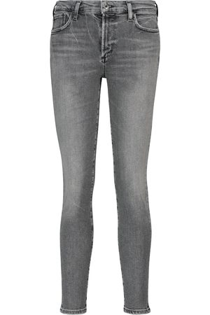 AGOLDE Mid-Rise Skinny Jeans Sophie