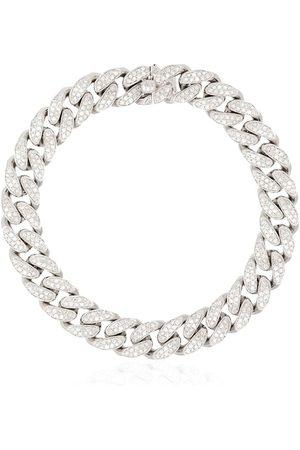Shay 18kt white gold pavé diamond bracelet
