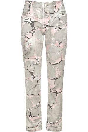 Stella McCartney Damen Jeans - Jeans Aus Baumwolldenim Im Marble Wash