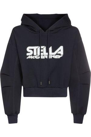 Stella McCartney Hoodie Aus Jersey Mit Logodruck
